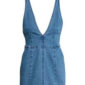 Vestido em ganga da H&M (14,99€)