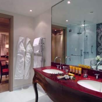 La stanza da bagno della Presidential Room