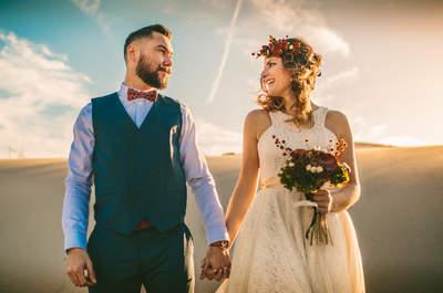 Una boda hipster en medio del desierto almeriense: ¡espectacular por naturaleza!