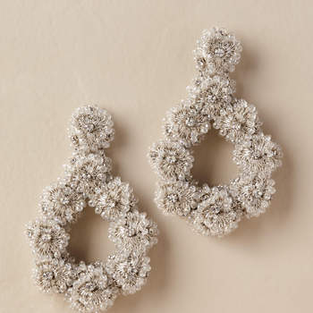 Tain Hoop Earrings, Bhldn