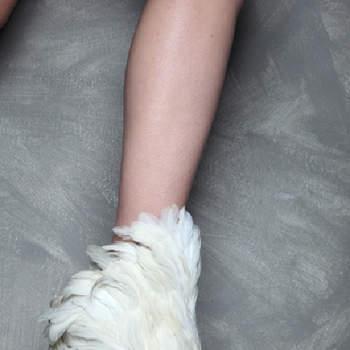 "Sandalo effetto ""piumato"""