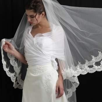 Voile de mariée Elianna - Crédit photo: Mariage Pronoce