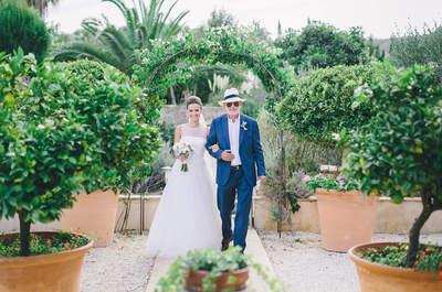 Sehen Sie zauberhafte Hochzeitsdekoration für Draußen 2017! So schön kann heiraten unter freiem Himmel sein