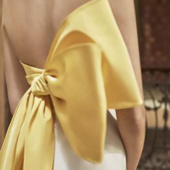 Carolina Herrera. Credits: Barcelona Bridal Fashion Week