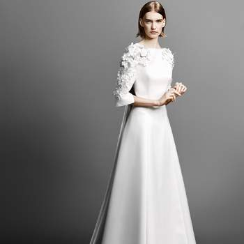 Flowe sleeve gown, Viktor and Rolf