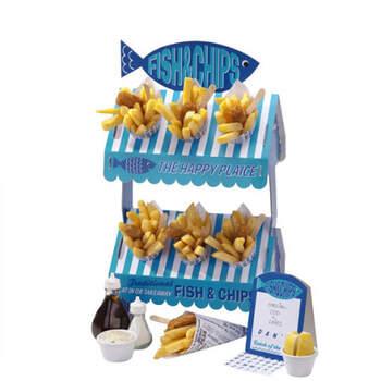 Puesto pescado y patatas fritas- Compra en The Wedding Shop