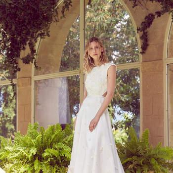 Robe de mariée collection Majesté modèle Amadis - Crédit photo: Margaux Tardits