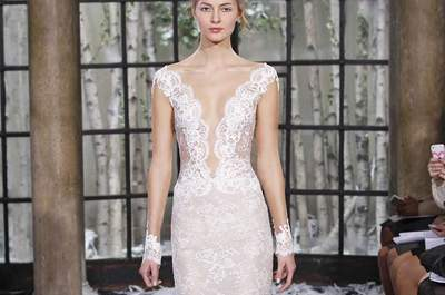8 Brautkleidertrends für Ihre Herbst-, Winterhochzeit 2015! Bei diesen Roben wird es Ihnen auch bei niedrigen Temperaturen warm ums Herz …