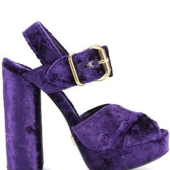Sandálias com plataforma de Prada (670 euros)