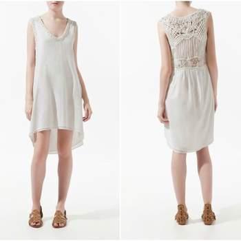 Quer um vestido de noiva barato, simples, fora do vulgar, que possa voltar a usar quando lhe apetecer e a faça sentir-se fiel ao seu estilo pessoal? Encontrámos 12 vestidos com estas características e um preço médio de 50 euros... e isto só numa loja: a Zara.