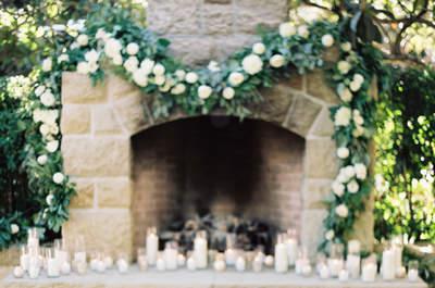 Kerzen für die Hochzeitsdekoration: Im warmen Licht den schönsten Tag feiern