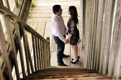 Mario Escamilla, 25 años enamorado del oficio de fotografiar al amor de parejas.