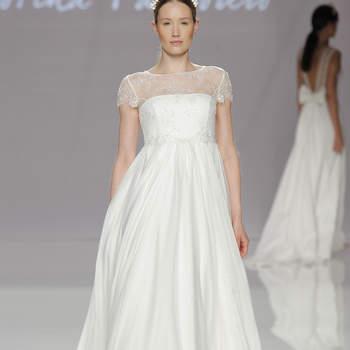 Cristina Tamborero. Credits- Barcelona Bridal Fashion Week