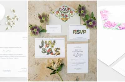 30 invitaciones de boda 2016: Los diseños con más estilo para sorprender