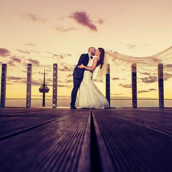 Foto: Aaron Ka Photography, Hochzeit von Hannah & Alessandro