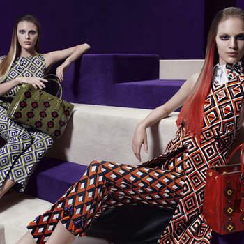 Tailleur pantalone per A/I 2012-13 firmati Prada. Foto: www.prada.com