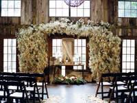 Dekoracje ślubne w stylu rustykalnym 2017