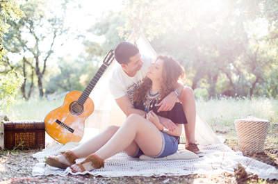 Lo romántico, lo fresco y lo actual se mezclan para crear especiales fotografías de boda