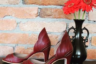 Sapatos de noiva coloridos: um toque ousado no seu grande dia!