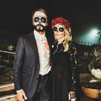 Pimpinha Jardim e o marido Francisco Spínola. Foto IG @pimpinhajardim