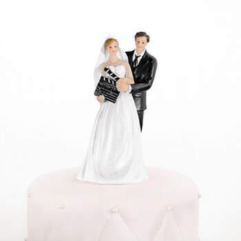 Figura tarta nupcial Novios de Cine- Compra en The Wedding Shop