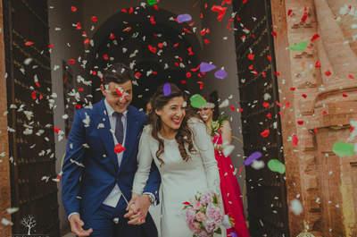 Un romance de instituto convertido en una verdadera historia de amor: la boda de Juanma y Rosa