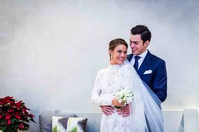 Sube montañas hasta alcanzar tu sueño: la boda de María y Dani