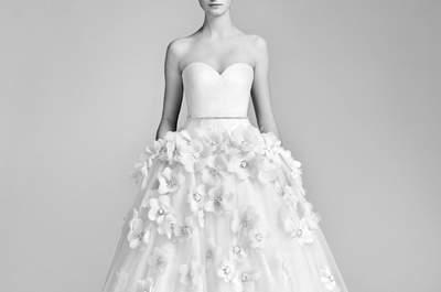 Más de 40 vestidos de novia escote corazón. ¡Diseños extraordinarios para dar el sí!