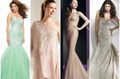 Robes pailletées et petits cristaux : le top de l'élégance 2013 pour les invitées à un mariage !