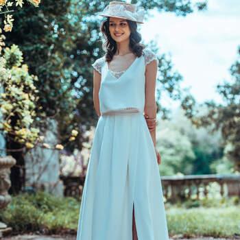 Photo : Guillaume Gilles - Elsa Gary, robe de mariée Couleur de Lune