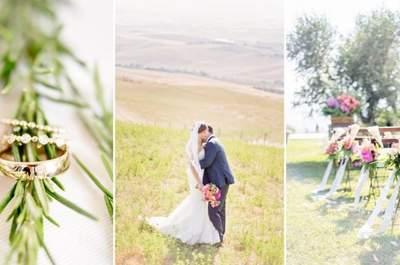 Blumen machen das Hochzeitskonzept erst stimmig! – Foto: Facibene