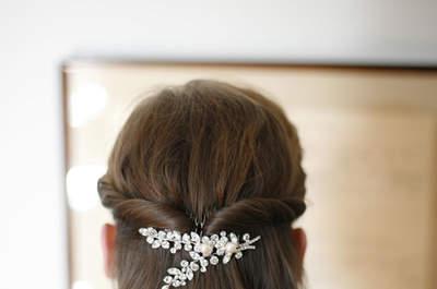 Lockere Brautfrisuren für Ihre Hochzeit 2015: Tragen Sie Ihr Haar offen!