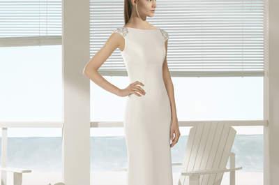Vestidos de novia Aire Barcelona 2018: Una colección imperdible ¡y perfecta!
