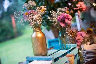 Ponle color a tu matrimonio, ¡diversión y alegría en cada detalle!