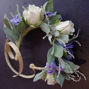 Couronnes de fleurs pour mariée 2017 : style et naturel assuré !