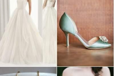 Um look completo para uma noiva Rosa Clará... no post do dia
