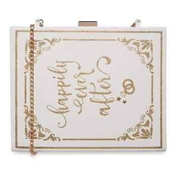 Pochette ideal para as damas de honor ou convidadas, a imitar um livro de histórias de encantar - 16€