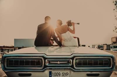 Que te despierten pidiéndote matrimonio: la boda de Cristina y Toni
