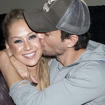 Enrique Iglesias e Anna Kournikova foram pais dos gémeos Nicholas e Lucy a 16 de dezembro. Foto DR