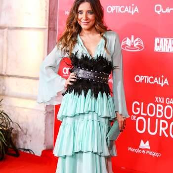 Joana Sonaldo vestida por Filipe Faísca | Jóias:  Saldanha Joalheiros |  Styling: Xana Guerra | Créditos: Nuno Pinto Fernandes © GLOBAL IMAGENS