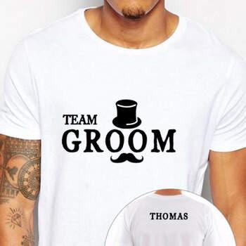Camiseta Team Groom- Compra en The Wedding Shop