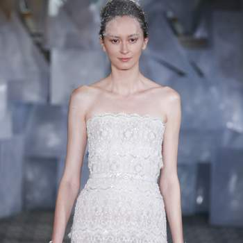 Kleid von MIRA ZWILLINGER, Credits: New York Bridal FASHION WEEK April2018