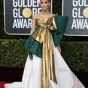 Jennifer Lopez in Valentino. Foto: Cordon Press