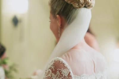 Peinados para novias con el pelo largo: ¡descubre todo lo puedes hacer!