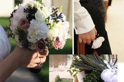 Flores no casamento – 6 sugestões para não se esquecer de nada!