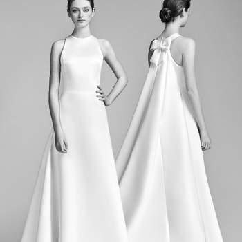 Suknie ślubne kształcie litery A: odcinane pod biustem! Piękne!