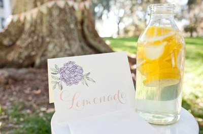 Para tu catering de matrimonio: ¡barras de bebidas originales!