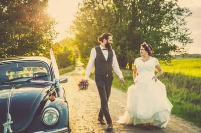 Eine romantische Vintage-Hochzeit