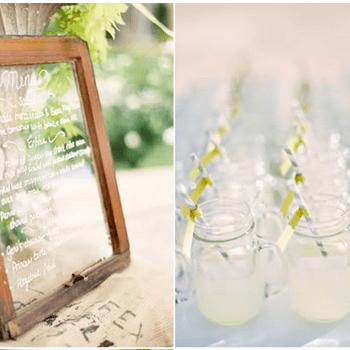 Elementos decorativos para o seu casamento