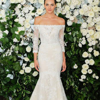 Anne Barge. Credits: New York Bridal Week